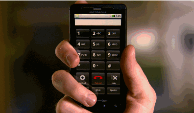Apple anten performans sayfasına Motorola Droid X'i de ekledi – Video