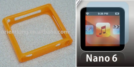 Altıncı nesil iPod nano'nun yeni aksesuarları ortaya çıkıyor