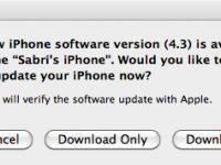 Apple iOS 4.3'ü yayınladı (güncellendi: Doğrudan indirme bağlantıları)