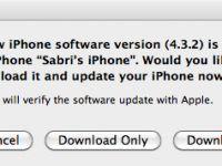 Apple iOS 4.3.2 güncellemesini yayınladı, hemen arkasından iOS 4.3.2 için jailbreak çözümü geldi