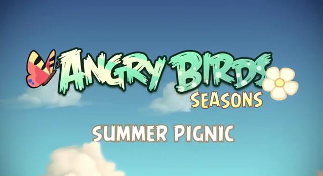 Angry Birds Seasons: Summer Pignic oyununun tanıtım videosu yayınlandı – Video