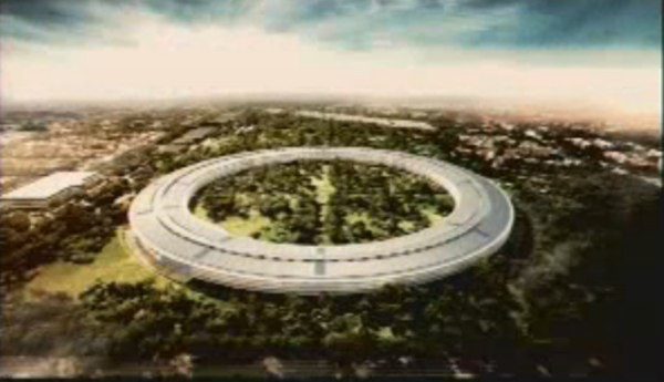 Apple'ın yeni binası bir uzay üssünü andıracak