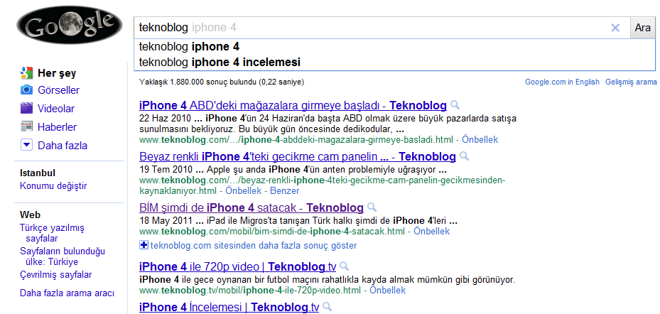 google-instant-search-turkiye