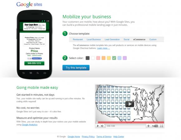google-siteler-mobi