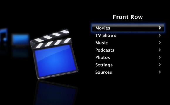 Apple Front Row multimedya arayüzüne OS X Lion'da yer vermiyor