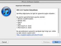 Apple güvenlik amaçlı iOS 4.3.5 yazılım güncellemesini yayınladı
