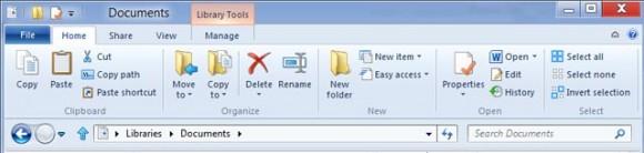 Windows 8 ile yenilenmiş bir Windows Gezgini gelecek