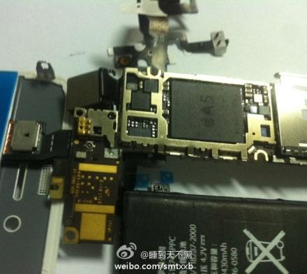iPhone 5'a ait olduğu iddia edilen bileşenler internete sızdı
