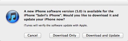 iOS 5 yayınlandı, indirebilirsiniz