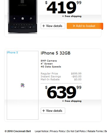 iPhone 5 ve iPhone 4S'e ait olduğu iddia edilen fiyat ve teknik özellik bilgileri internete sızdı