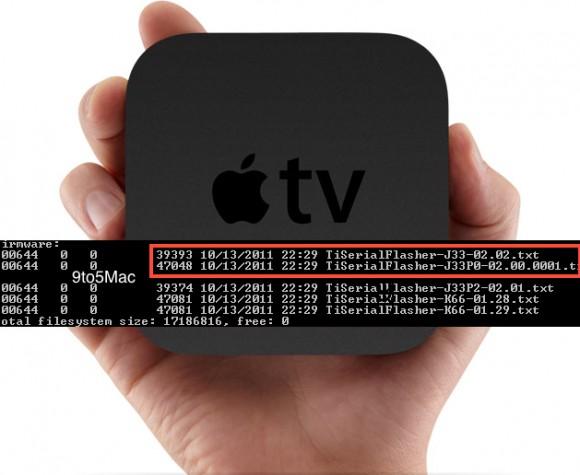 Üçüncü nesil Apple TV ile ilgili detaylar iOS 5.1 beta sürümünün kaynak kodlarında