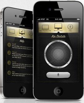 Air Dictate uygulaması Siri yardımıyla Mac'e yazı yazdırıyor
