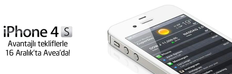 Vodafone ve Avea da iPhone 4S'i 16 Aralıkta piyasaya sürüyor
