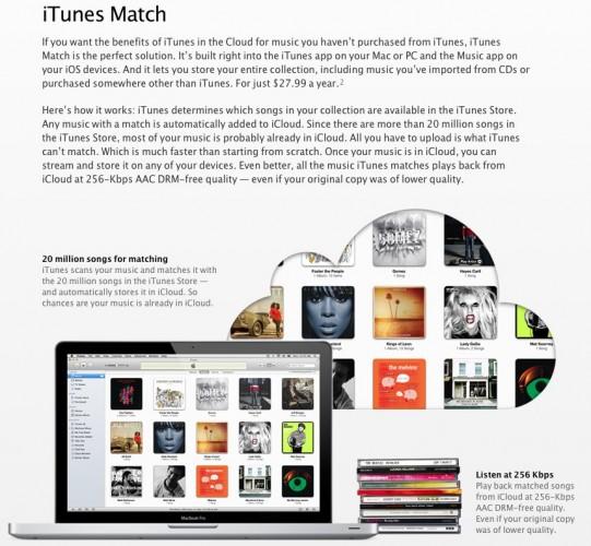 Apple iTunes Match'i tüm dünyada kullanıma açtı, Türkiye yine mahrum kaldı