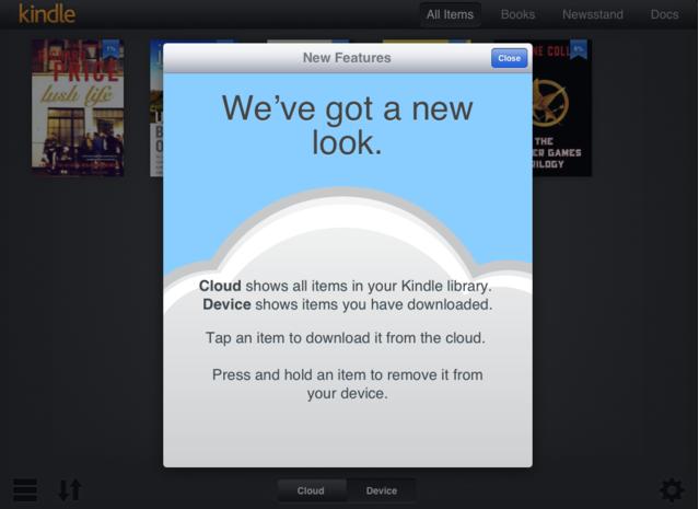 Amazon Kindle iPad uygulaması Retina ekran desteği kazandı