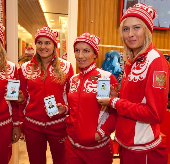 Maria Sharapova Samsung'un yeni reklam yüzü oldu