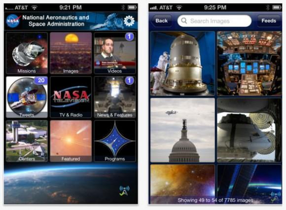 NASA'nın iPhone uygulaması güncellendi, yeni özellikler eklendi