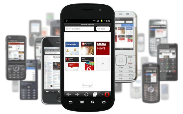 Java tabanlı Opera Mini 7 cep telefonları, BlackBerry ve Symbian S60 için yayınlandı