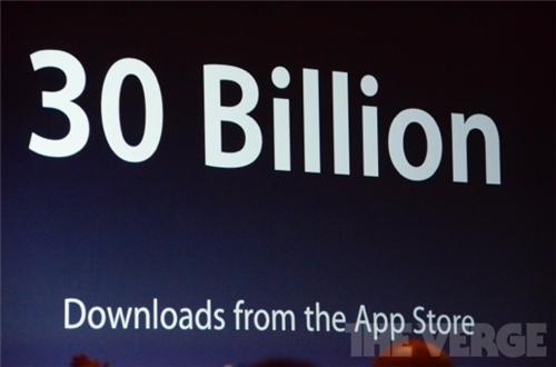 App Store'dan 30 milyar uygulama indirildi, toplam 650 bin uygulama var