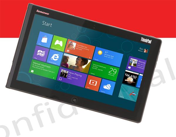 Lenovo'ya göre Windows RT tabletler 300 dolardan başlayan fiyatlarla satılabilir