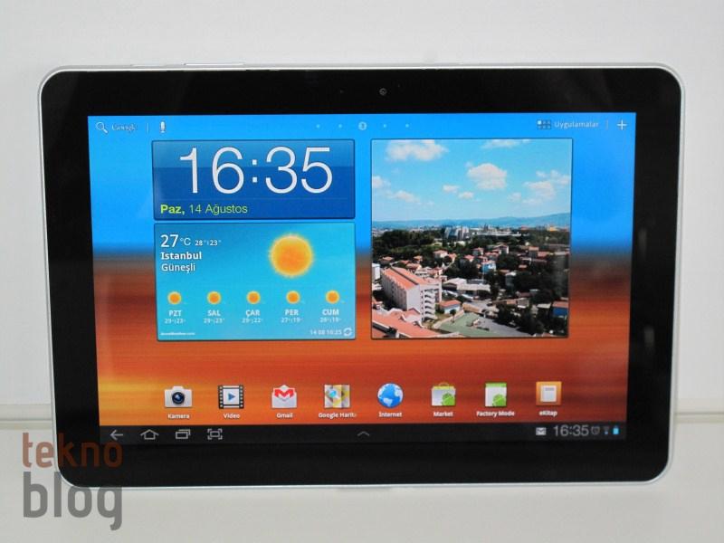 Samsung GT-7510 Galaxy Tab 10.1 için Android 4.0 güncellemesi yayılmaya başladı