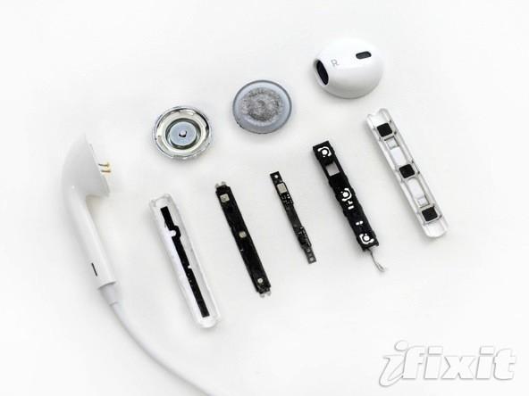 Apple'ın EarPods kulaklıkları iFixit tarafından parçalara ayrıldı