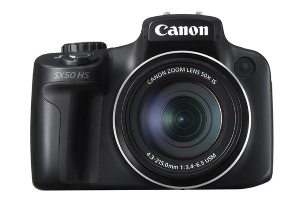 Canon PowerShot SX50 HS yüksek optik zum değeriyle birlikte geldi