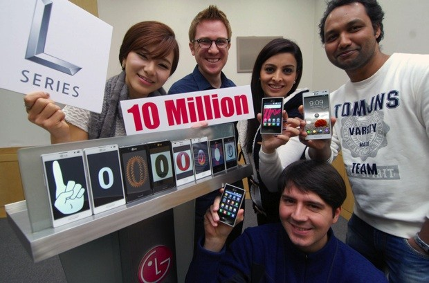 LG Optimus L serisi 10 milyon satış rakamını yakaladı