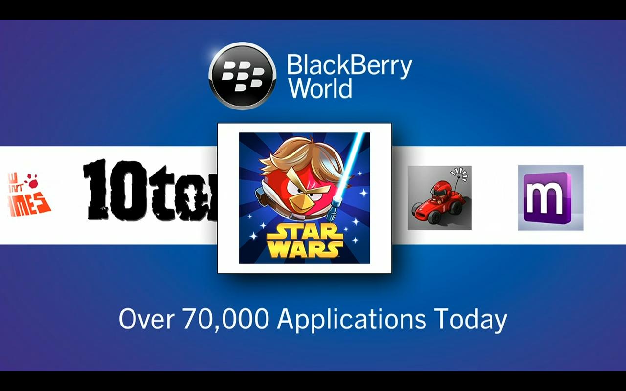 BlackBerry 70 bin yeni uygulamadan bazılarını gösterdi