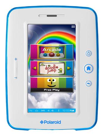 Polaroid CES 2013'e çocuklara özel 7 inç'lik Android tabletiyle geliyor