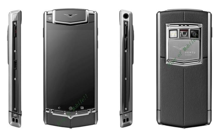 Nokia'nın elden çıkardığı Vertu ilk Android telefonu Vertu Ti'yi çıkarmaya hazırlanıyor
