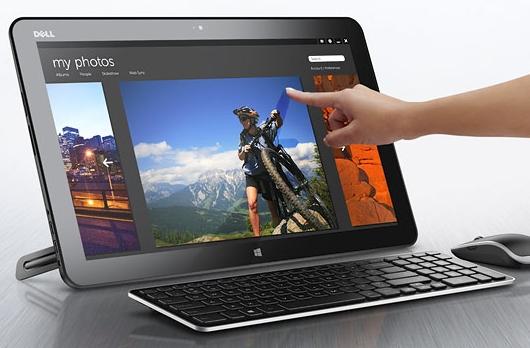 Dell dokunmatik ekranlı monitör bilgisayarı XPS 18'i tanıttı
