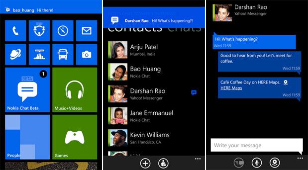 Nokia'dan Lumia'lara özel yeni bir uygulama: Nokia Chat