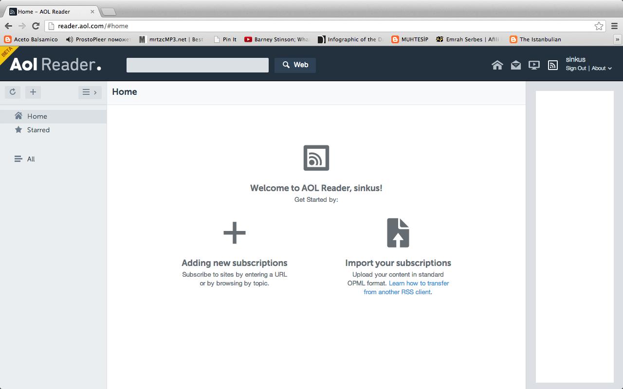 AOL Reader'ın beta versiyonu faaliyete geçti