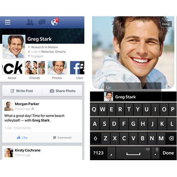 BlackBerry 10 için Facebook uygulaması güncellendi