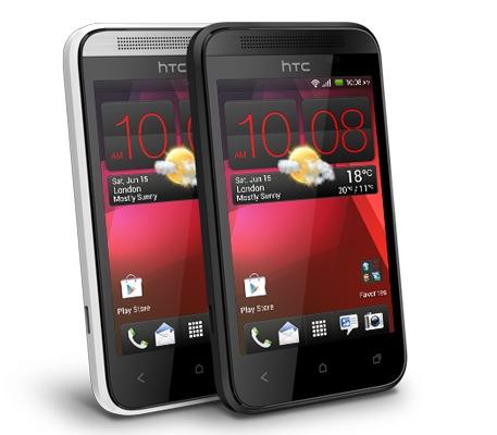 HTC'nin küçük Android telefonu Desire 200 tanıtıldı
