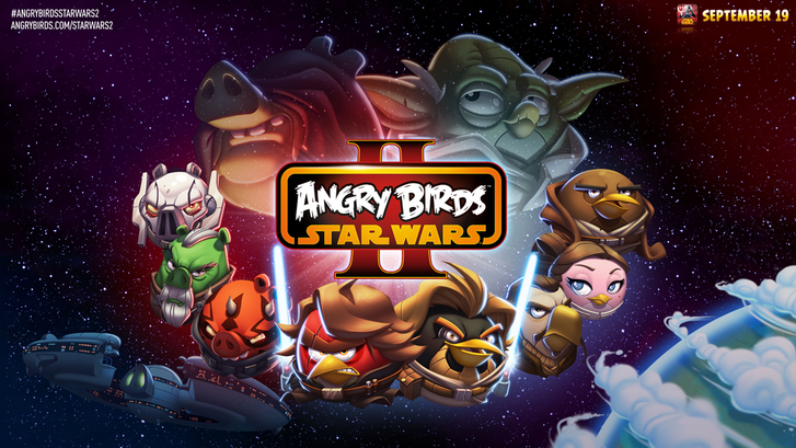 Angry Birds Star Wars II iPhone, iPad, Android, Kindle Fire ve Windows Phone 8 için yayınlandı