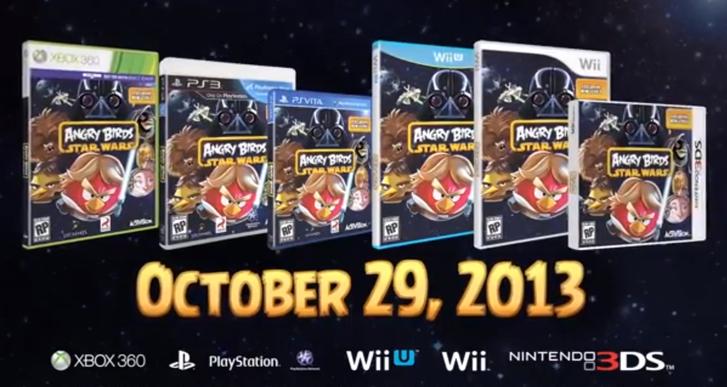 Angry Birds Star Wars 29 Ekimde oyun konsollarına geliyor