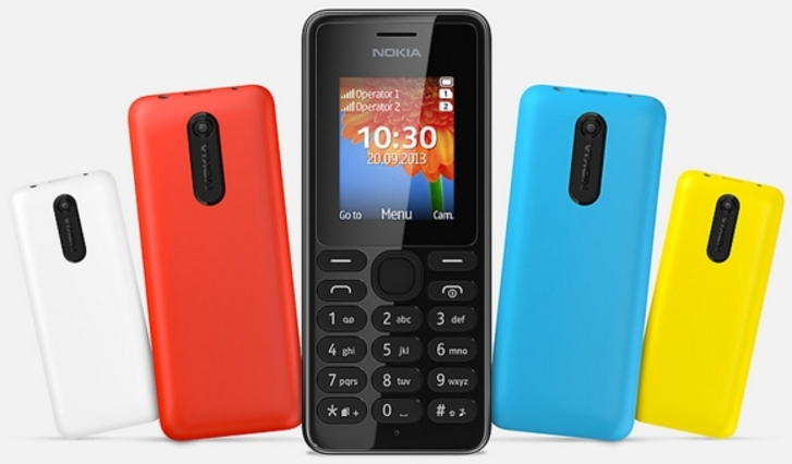 Nokia 108 ve 108 Dual SIM ucuz fiyat ve 31 güne varan bekleme süresiyle geliyor