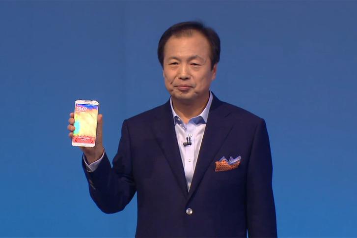 Samsung merakla beklenen Galaxy Note 3'ü resmen tanıttı