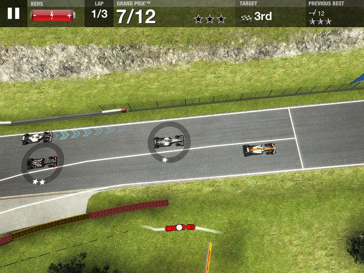 Lisanslı Formula 1 oyunu F1 Challenge iOS'te yerini aldı