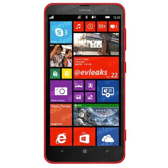 Nokia Lumia 1320 ve Guru Nokia World etkinliğinin başlamasına saatler kala sızdı