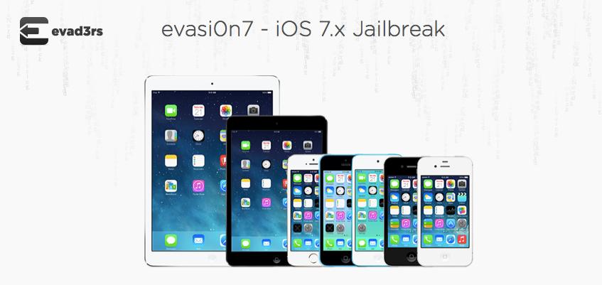 iOS 7 için untethered jailbreak aracı evasi0n 7 çıktı