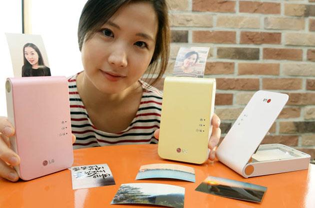 LG Pocket Photo 2 daha küçük gövde ve geliştirilmiş özelliklerle geliyor