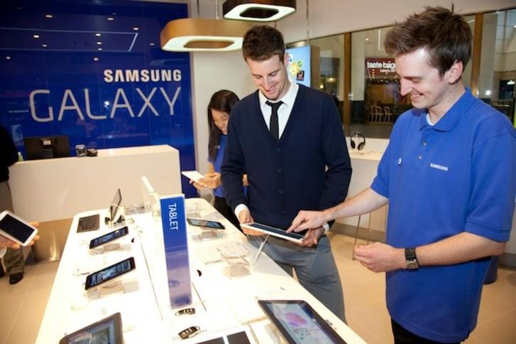 Samsung 2014'ün ilk çeyreğinde dört yeni Galaxy tablet çıkarabilir