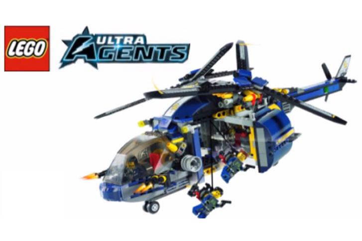 Lego Ultra Agents artırılmış gerçeklik uygulamasıyla birlikte yeniden sahne alıyor