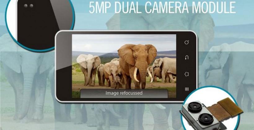 Toshiba TCM9518MD çift kamera modülüyle çekimden sonra yeniden odaklama mümkün oluyor