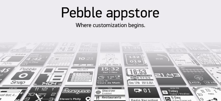 Pebble uygulama mağazası iOS'te açıldı, Android'e de geliyor