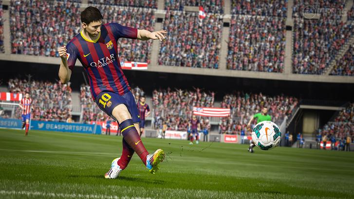 Daha dinamik tribünlere sahip FIFA 15 sonbaharda yayınlanacak