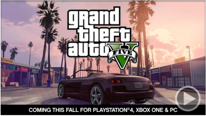 Grand Theft Auto V sonbaharda PS4, Xbox One ve PC'ye geliyor